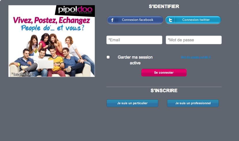 Pipoldoo : le réseau social positif